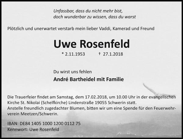 Traueranzeige_Uwe_Rosenfeld